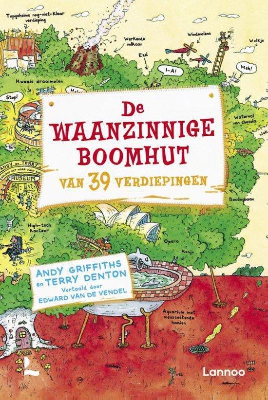 Boek cover De waanzinnige boomhut 3 -   De waanzinnige boomhut van 39 verdiepingen van Andy Griffiths (Hardcover)