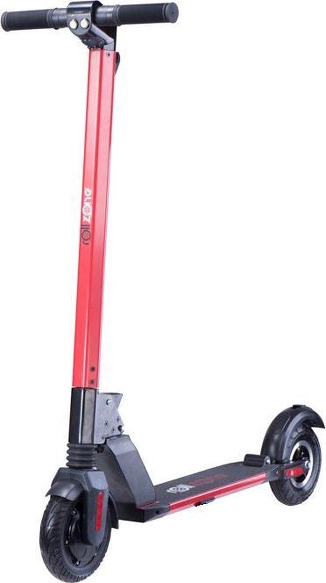 Merkloos / Sans marque ROLLZONE ® ES06, elektrische step 350 watt motor en lithium accu rood opvouwbaar online kopen