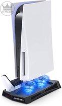 PS5 Oplaadstation - PS5 Dock - PS5 Standaard - Ps5 Controller oplader -  Playstation 5 Dockingstation  - PS5 Consolestand  - PS5 stand - Hardware en Digital - PS5 accessoires - Playstation 5 - Playstion 5 standaard - Playstation 5 stand