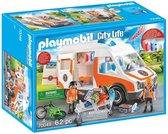 PLAYMOBIL City Life Ambulance en ambulanciers - 70049 - Multicolor