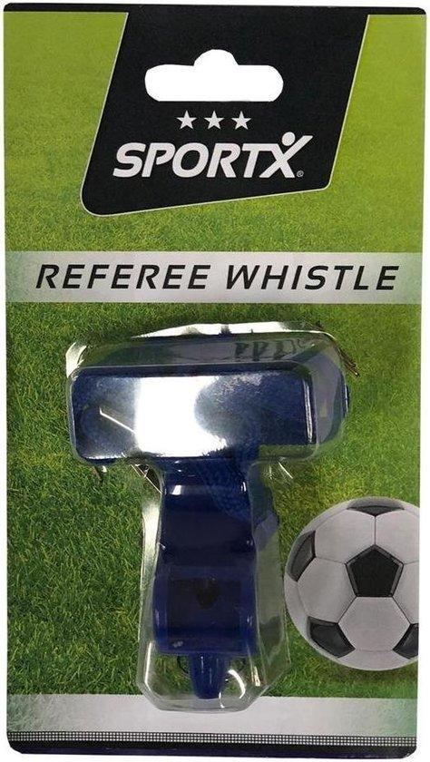 Afbeelding van het spel SportX Kunststoffen Scheidsrechterfluitje met Koord Blauw