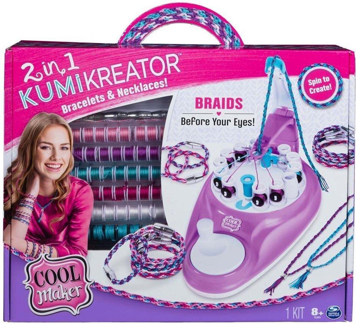 Cool Maker 2in1 Kumi Kreator