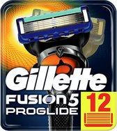 Gillette Fusion5 ProGlide Scheermesjes Mannen - 12 stuks - Blauw