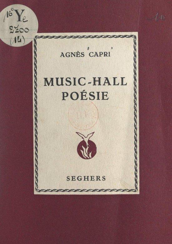 Music-hall poésie