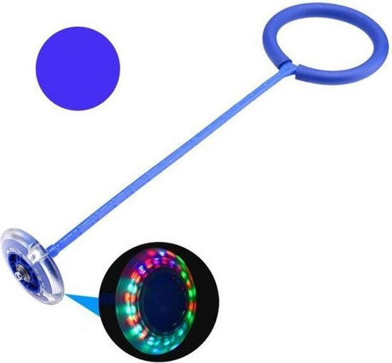 Afbeelding van het spel Skip Ball Toy with LED lighting Blue