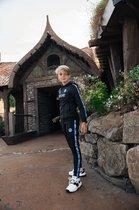 Malelions Junior Sport Warming Up Trackpants - Black/Blue