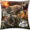 Jurassic World Vulkaan - Sierkussen - 40 x 40 cm - Multi