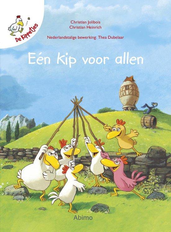 Boek cover De kippetjes  -   Een kip voor allen van Christian Jolibois (Hardcover)