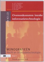 Monografieen Recht en Informatietechnologie 2 -   Overeenkomsten inzake informatietechnologie