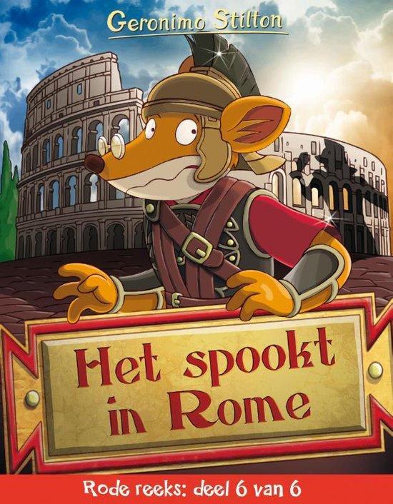 Rode reeks 6 -   Het spookt in Rome