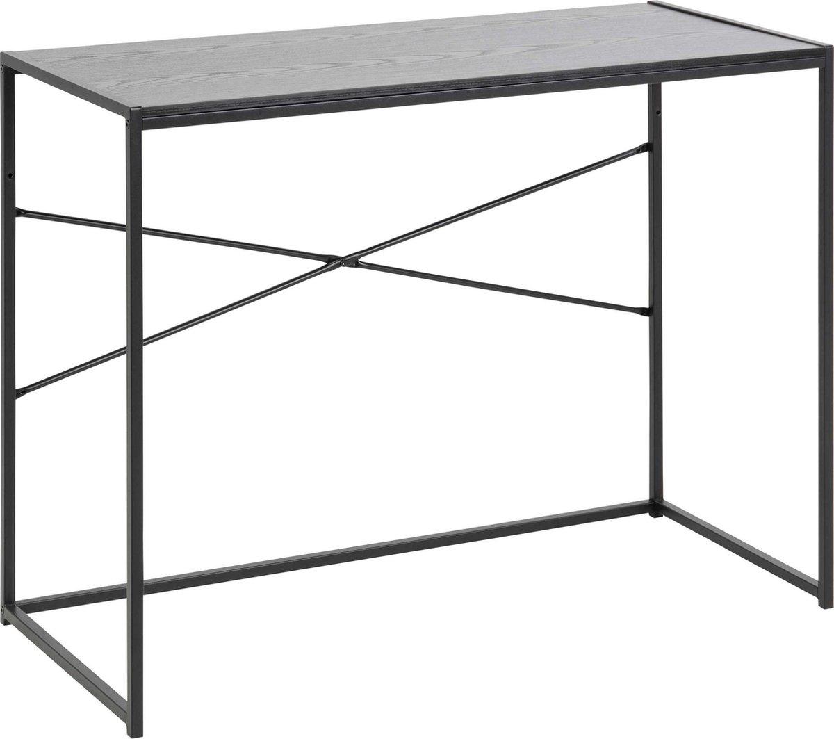 Bureau Honkytonk - zwart essenhout - 100x45x75cm