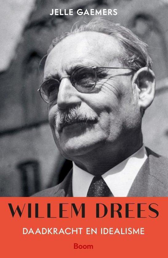 Boek cover Willem Drees van Jelle Gaemers