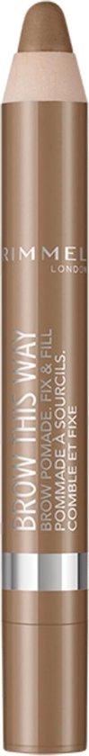 Rimmel Brow Pomade Wenkbrauwpotlood - Medium brown