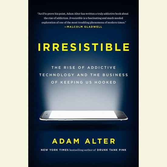 Boek cover Irresistible van Adam Alter (Onbekend)