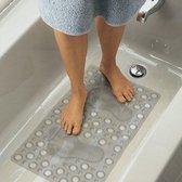 Antislip Douchemat Douche cabine Mat voor in bad - Transparant - Anti Slip badmat - 70x40CM - Mat voor in de badkamer