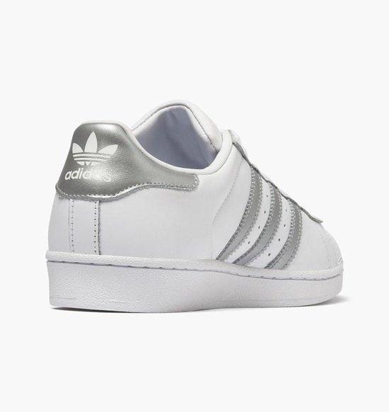 | Adidas Superstar Wit Grijs Dames Sneaker