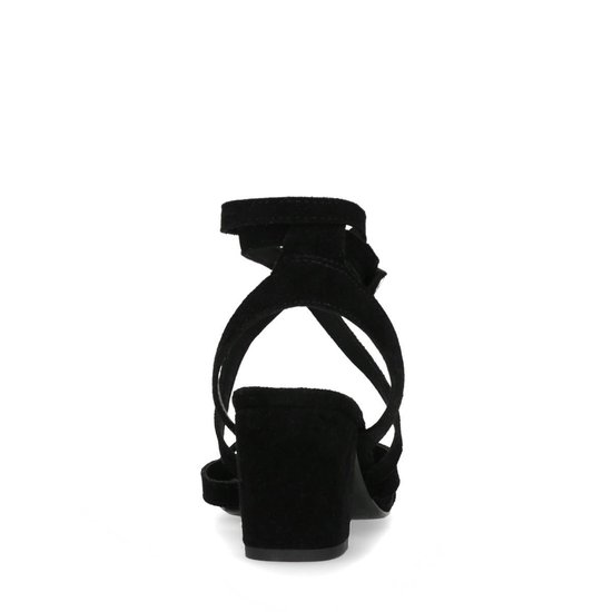 Sacha - Dames Zwarte Sandalen Met Lage Hak Maat 39 R2MjAx