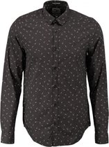 Garcia slim fit overhemd fine cotton valt kleiner - Maat  M