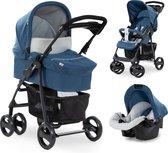 Hauck Shopper SLX Trioset Kinderwagen - Denim/silver