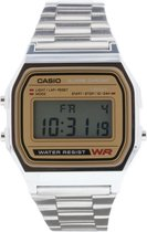 Casio Collection A158WEA-9EF - Horloge - Staal - Zilverkleurig - Ø 33.2 mm