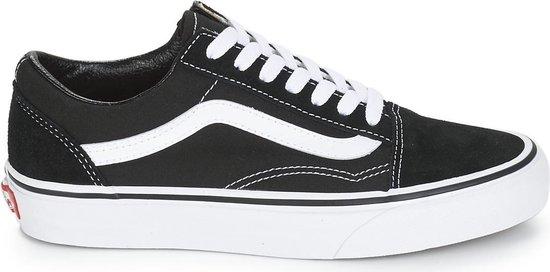 Vans Old Skool Sneakers - Unisex - Zwart/Wit - Maat 37