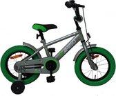 Amigo Sports Jongensfiets - Kinderfiets 12 Inch - Grijs/Groen