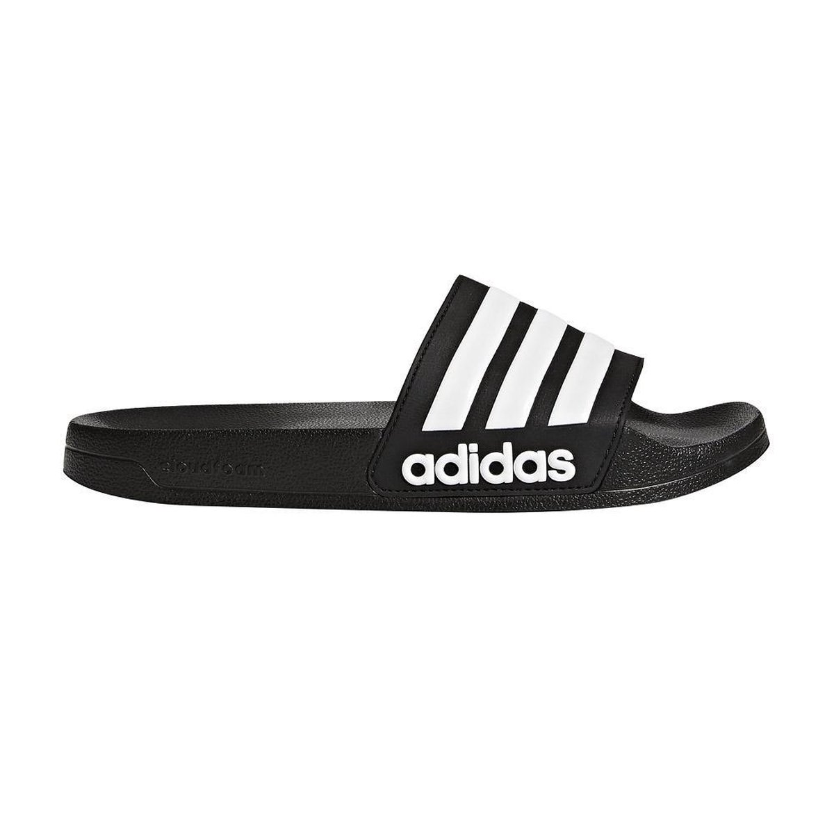 adidas CF Adilette Slippers Volwassenen - Black/White - Maat 40.5