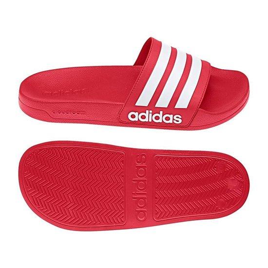 bol.com | adidas Adilette Slippers Volwassenen - Rood;Wit ...