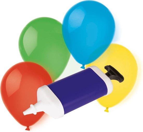 Amscan Ballonnen Met Pomp Gekleurd 10 Stuks
