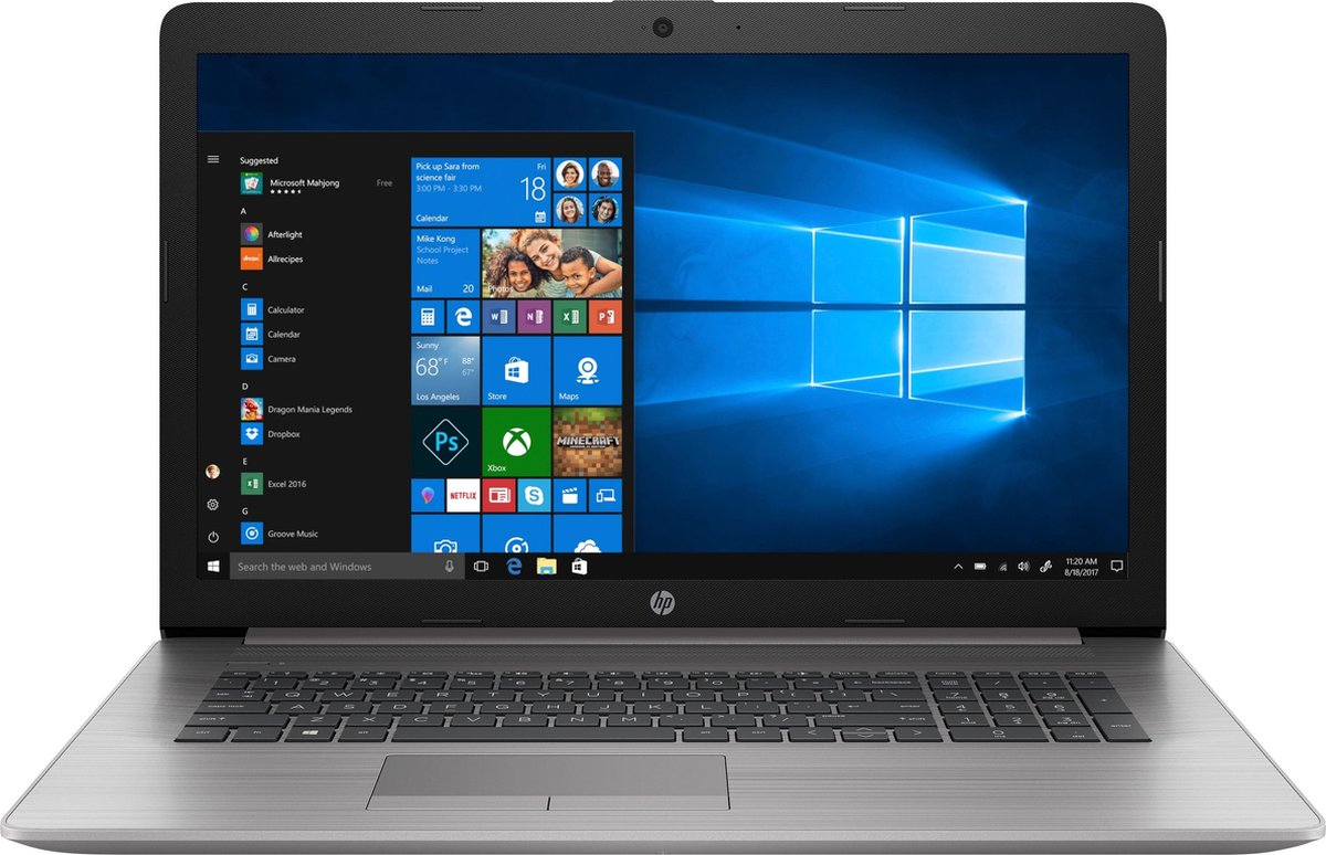 "HP 470 G7 - 17.3"" FHD AG - i5-10210U - 16GB DDR4 - 512GB SSD - W10 Pro - Verlicht Keyboard"