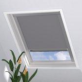 Dakraam Rolgordijn Pure Verduisterend Light Grey voor Velux: UK08