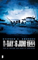 Boek cover D-Day: 6 juni 1944 van Stephen E Ambrose (Paperback)