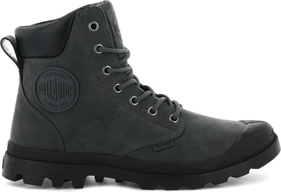 Palladium Pampa Sport Cuff WP Waterproof Lux 73231-078-M Heren Laarzen Boots Schoenen Grijs - Maat EU 44.5 UK 10