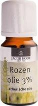 Jacob Hooy Rozenolie - 10 ml - Etherische Olie