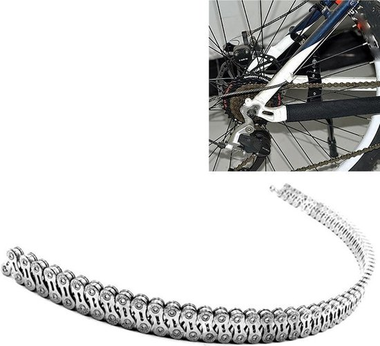 Dead Fly Mountain Road Folding Bicycle Chain Boxed Single Speed Shift Bicycle Accessories(11 speed  hollow silver chain)