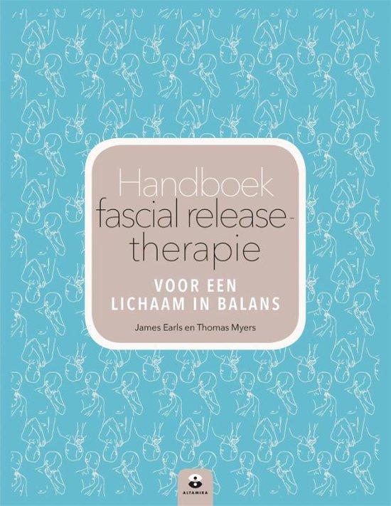 Boek cover Handboek fascial release-therapie van James Earls (Paperback)
