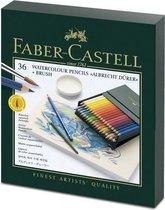 Aquarelpotlood Faber-Castell Albrecht D黵er studiobox � 36 stuks