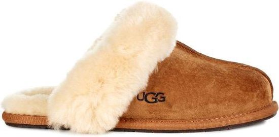 UGG Scuffette II Dames Pantoffels - Cognac - Maat 40