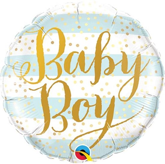 Folie ballon Baby Boy - 46 cm