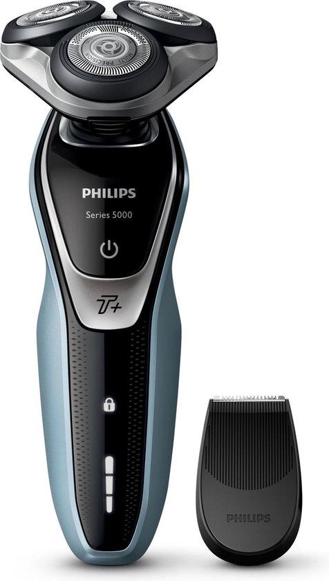 Philips SHAVER Series 5000 S5530/06R1 scheerapparaat Roterend scheerapparaat Trimmer Zwart, Zilver