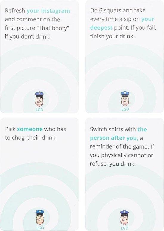 Drankspel Let's Get Drunk – Speelkaarten – Volwassenen