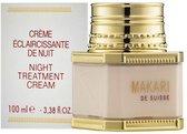 Makari Night Treatment Crème - Verwijdert donkere vlekjes van de huid en bleek de huid