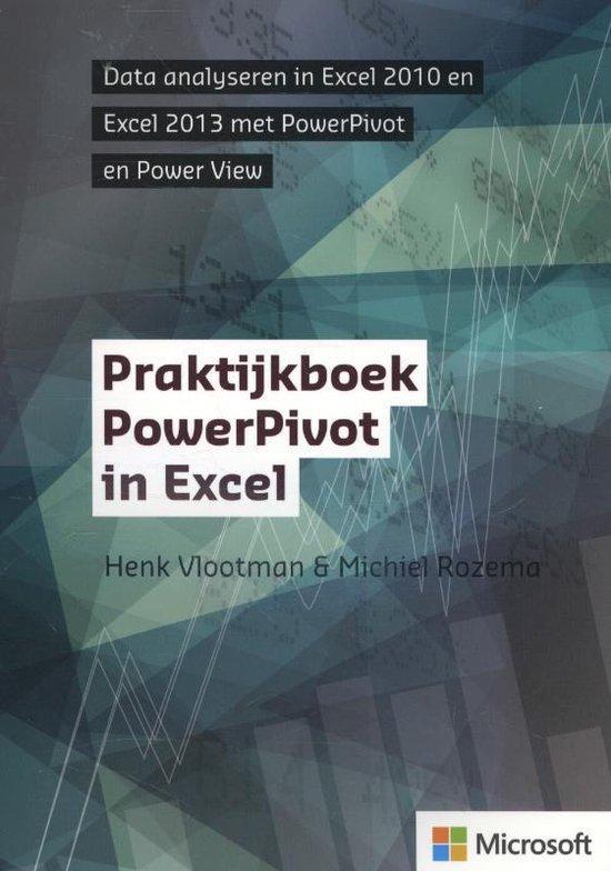 Cover van het boek 'Praktijkboek PowerPivot in Excel'