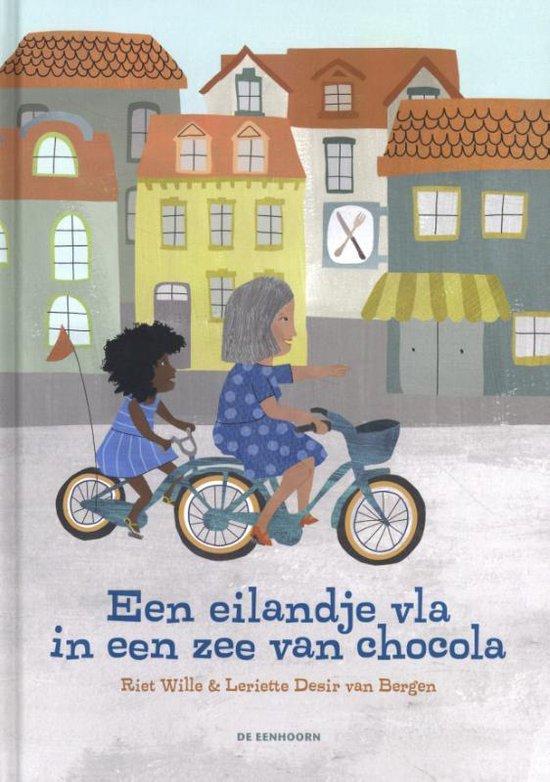 Boek cover Een eilandje vla in een zee van chocola van Riet Wille (Hardcover)
