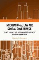 Omslag International Law and Global Governance