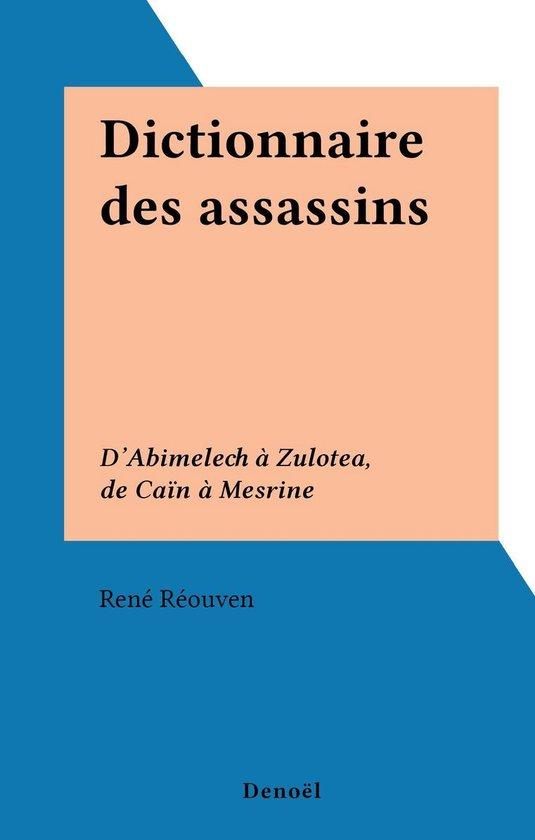 Dictionnaire des assassins