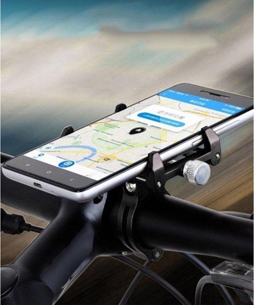 GUB G86 Universele Fiets Telefoonhouder voor Smartphone Zwart