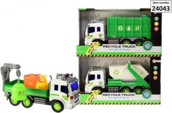 Afbeelding van het spel Super recycle truck met licht en geluid