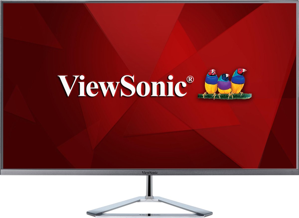 Viewsonic VX Series VX3276-2K-mhd 81,3 cm (32) 2560 x 1440 Pixels LED Zilver