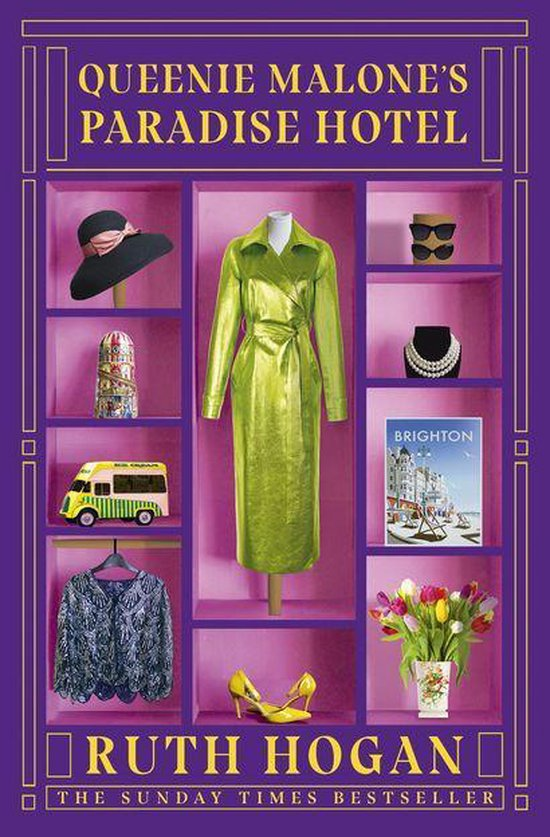 Boek cover Queenie Malones Paradise Hotel van Ruth Hogan (Onbekend)